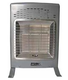 תנור חימום אפור