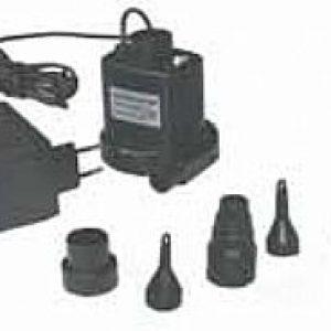 משאבה חשמלית + חיבור לרכב