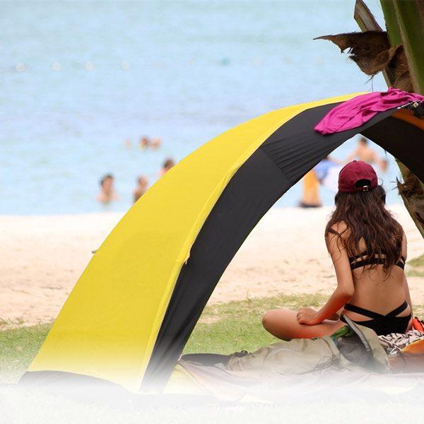 אוהלים לים