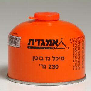 מיכל גז חד פעמי שסתום 230 גרם