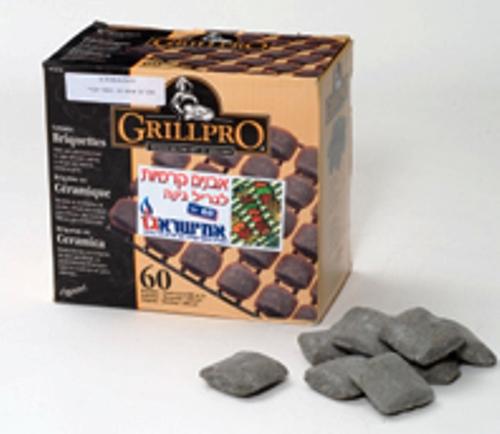 אבנים קרמיות לגריל